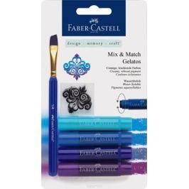 Faber-Castell Восковые мелки Gelatos цвет синий 4 шт