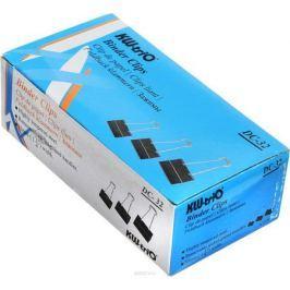 KW-Тrio Зажим для бумаг цвет черный 32 мм 12 шт