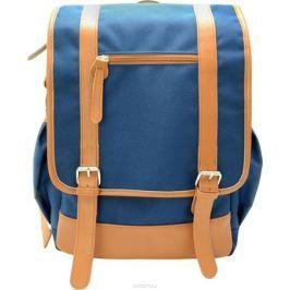 Action! Рюкзак цвет синий бежевый