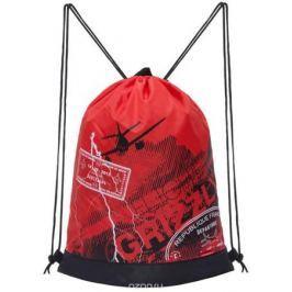 Grizzly Мешок для обуви цвет красный OM-790-5