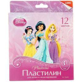Disney Пластилин Принцессы 12 цветов