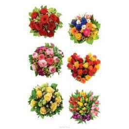 Avery Zweckform Набор наклеек Букет цветов 12 шт