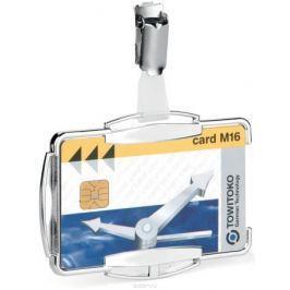 Durable Держатель для пластиковой карты/пропуска Rfid Secure