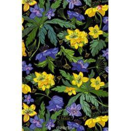 Канц-Эксмо Блокнот Цветы Яркие краски 120 листов