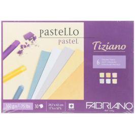 Fabriano Альбом для пастели Tiziano 6 цветов 30 листов 46029742