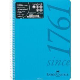 Faber-Castell Блокнот Since 1761 100 листов в клетку цвет голубой