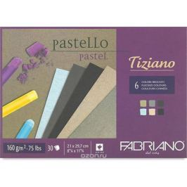 Fabriano Альбом для пастели Tiziano 6 цветов 30 листов 46021297