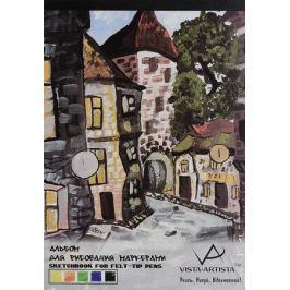 Vista-Artista Альбом для рисования маркерами А3 40 листов