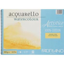 Fabriano Альбом для акварели Artistico Traditional White 12 листов 66312636