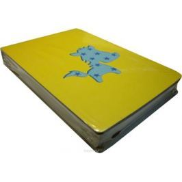 Карамба Блокнот С лошадкой цвет желтый 108 листов