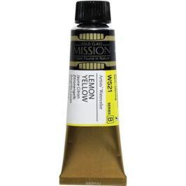 Mijello Акварель Mission Gold цвет W521 Желтый лимонный 15 мл MWC-W521