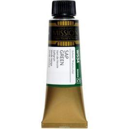 Mijello Акварель Mission Gold цвет W534 Травяной зеленый 15 мл MWC-W534