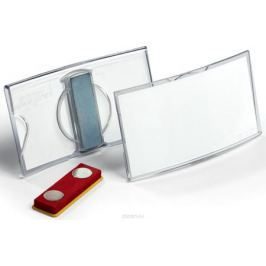 Durable Бейдж Konvex горизонтальный с магнитом
