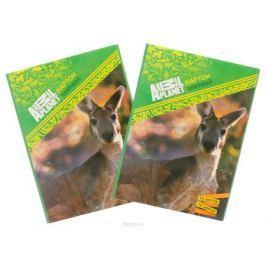 Action! Набор цветного мелованного картона Animal Planet 2 шт