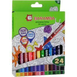 Baramba Фломастеры на водной основе 24 цвета