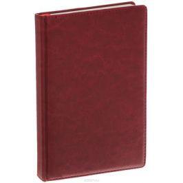 Listoff Записная книжка 120 листов в клетку цвет бордовый