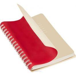 Portobello Trend Ежедневник недатированный Vista 128 листов цвет красный бежевый