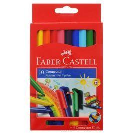 Faber-Castell Набор фломастеров с клипом 10 цветов
