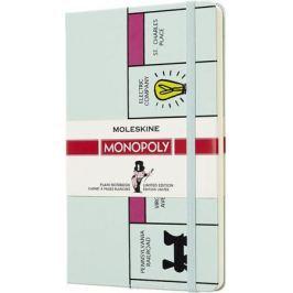 Moleskine Блокнот Monopoly 120 листов без разметки цвет бежевый