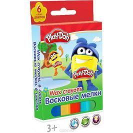 Play-Doh Мелки восковые 6 цветов PDDB-US1-CR6