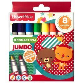 Mattel Набор детских фломастеров Jumbo Mattel Fisher Price 8 цветов