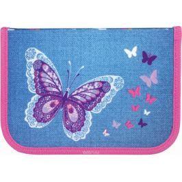 Tiger Family Пенал Denim Butterflies цвет голубой 226960