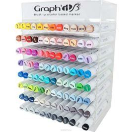 Graph'It Набор маркеров Graph'It Brush основные цвета 96 шт