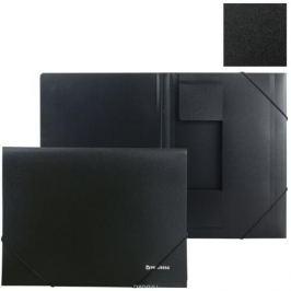 Brauberg Папка на резинках Стандарт цвет черный 221624