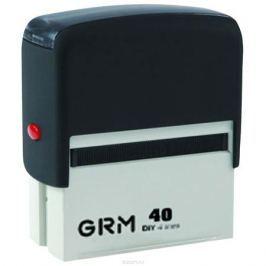 GRM Штамп самонаборный шестистрочный 59 х 23 мм