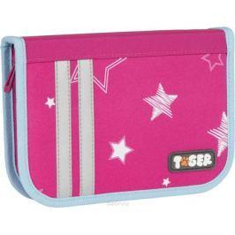 Tiger Family Пенал Twinkle Stars цвет розовый 226963