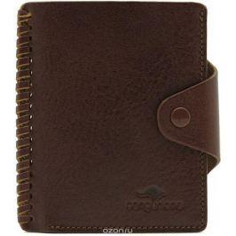 Визитница мужская Cangurione, цвет: коричневый. 3181-004