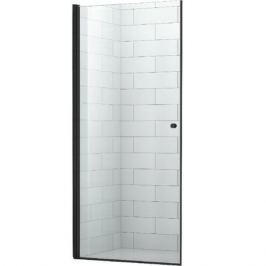 Душевая дверь в нишу Cezares Eco B-1 90 профиль Черный стекло прозрачное