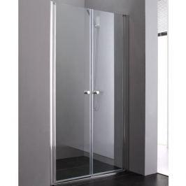 Душевая дверь в нишу Cezares Elena B-2 90 профиль Хром стекло рифленое