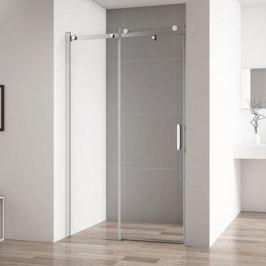 Душевая дверь в нишу Cezares Stylus Soft STYLUS-SOFT-BF-1-110-C-Cr 110 профиль Хром стекло прозрачное