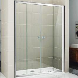 Душевая дверь Cezares Pratico BF-2 190 профиль Хром стекло матовое