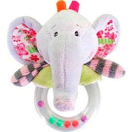 Мягкая погремушка Жирафики Слон