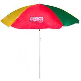 Пляжный зонт Ecos BU-04 160*6 см складная штанга 145 см