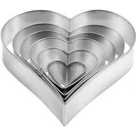 Формочки - сердца Tescoma DELICIA 6шт 631362
