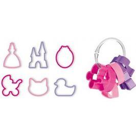 Формочки для девочек Tescoma DELICIA KIDS 6шт 630920