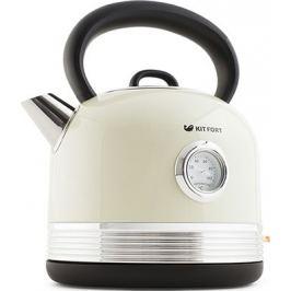 Чайник электрический Kitfort КТ-634-3 бежевый