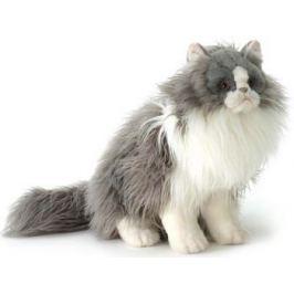Мягкая игрушка Hansa Creation 5012 Персидский кот Табби серый с белым 38см