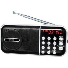 Портативный радиоприемник MAX MR-321 черный с MP3