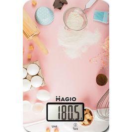 Кухонные весы MAGIO MG-799 розовый