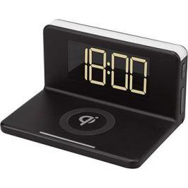 Часы с беспроводной зарядкой MAX M-010 чёрные