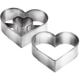Формочки для печенья с начинкой Tescoma сердце DELICIA 631190