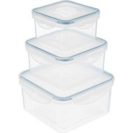 Набор контейнеров Tescoma FRESHBOX 3 шт 1.2 2.0 3.0 л квадратный 892042