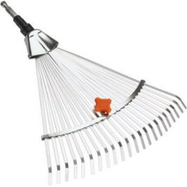 Грабли Gardena стальные веерные регулируемые (насадка для комбисистемы) 03103-20