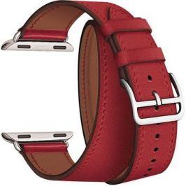 Ремешок для часов Lyambda в два оборота для Apple Watch 38/40 mm MERIDIANA LWA-01-40-RD Red