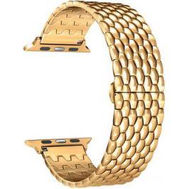 Ремешок для часов Lyambda из нержавеющей стали для Apple Watch 38/40 mm KITALFA LWA-08-40-GL Gold