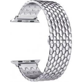 Ремешок для часов Lyambda из нержавеющей стали для Apple Watch 38/40 mm KITALFA LWA-08-40-SL Silver